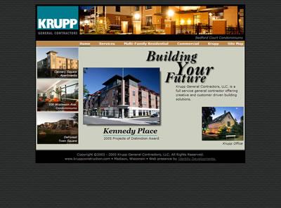 Krupp General Contractors Home Page 2005